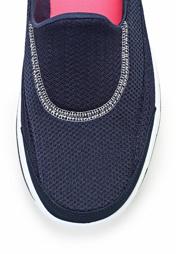 фото Слипоны женские Skechers SK261AWLU726, синие