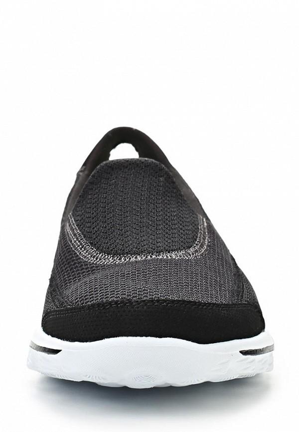 фото Слипоны женские Skechers SK261AWLU727, черные