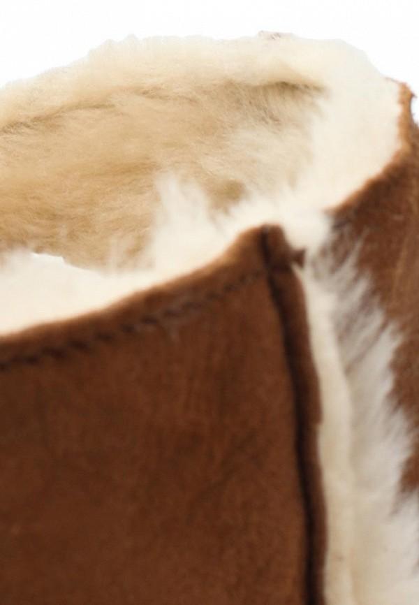 фото Полусапоги на плоской подошве Smith's American SM193AWIP090, коричневые