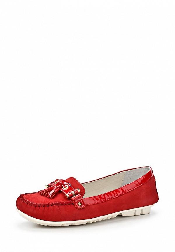 фото Мокасины женские Soledo SO016AWBPY40, красные