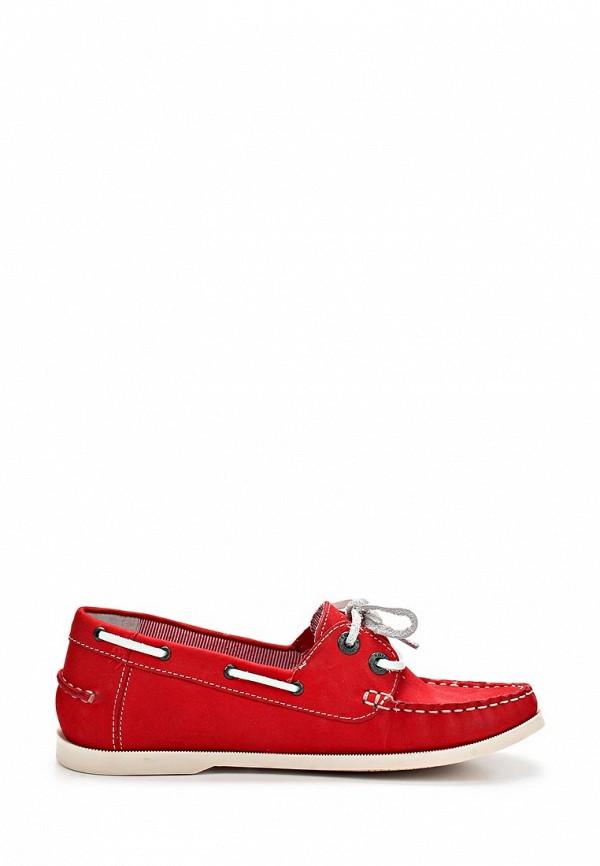 фото Мокасины женские s.Oliver SO917AWALR12, красные на шнурках