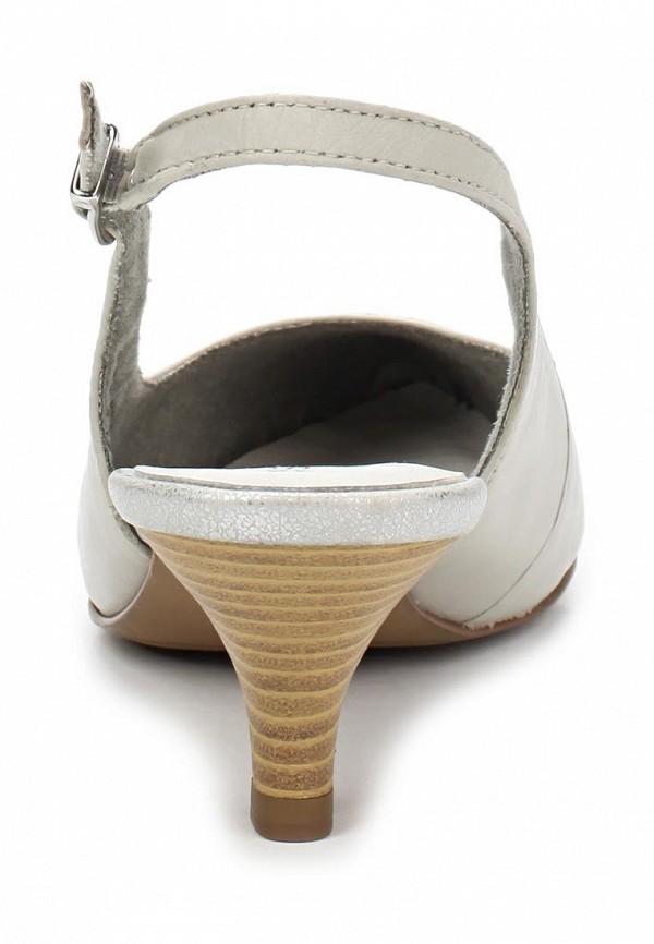 фото Туфли на низком каблуке s.Oliver SO917AWALT55, белые без задника