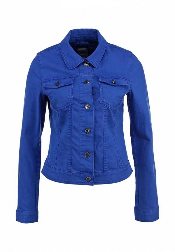 Куртка джинсовая s.Oliver SO917EWBRJ90. Цвет: синий