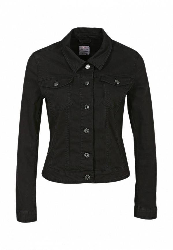 Куртка джинсовая s.Oliver SO917EWBRJ92. Цвет: черный