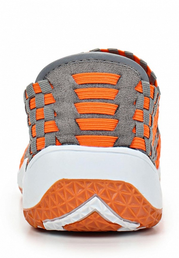 фото Кроссовки женские Балетки Spur SP169AWBQD90, оранжево-бежевые