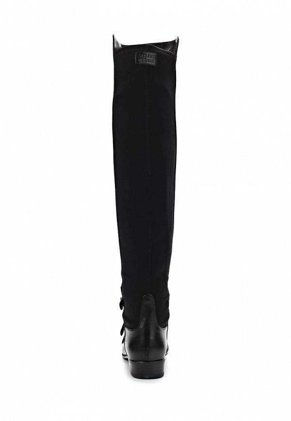 фото Женские сапоги-ботфорты Stuart Weitzman ST001AWCCD41, черные (кожа)