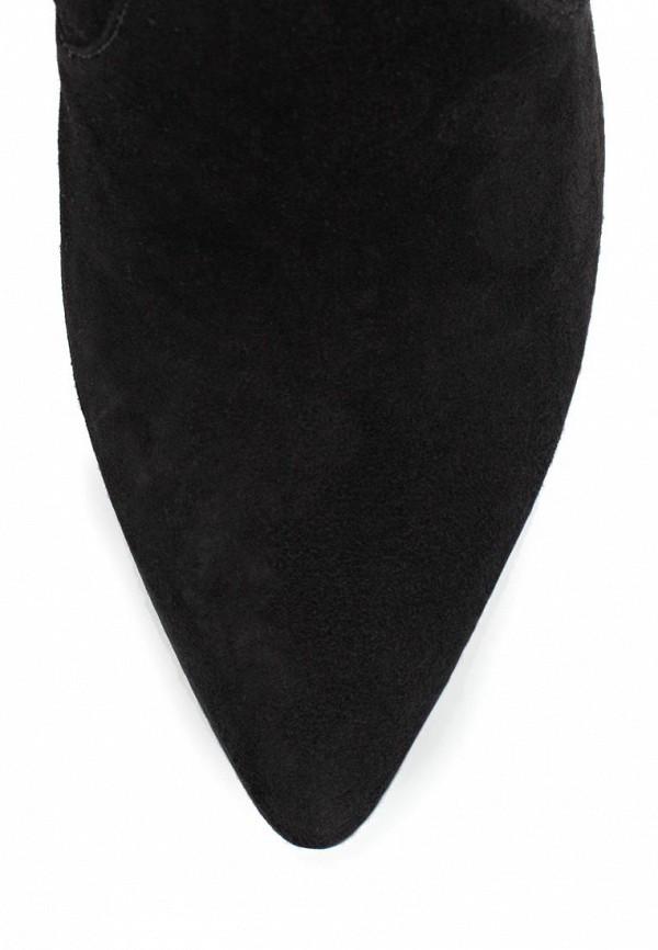 фото Женские сапоги-ботфорты Stuart Weitzman ST001AWCCD45, черные на каблуке