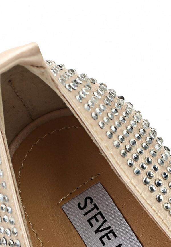 фото Туфли на платформе и каблуке Steve Madden ST170AWASC70, серебряные/стразы