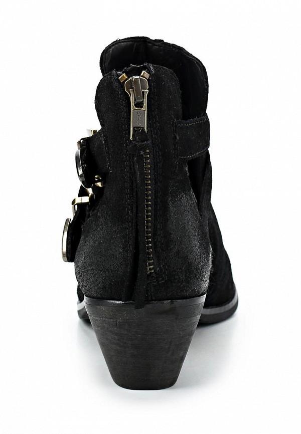 фото Ботильоны на низком толстом каблуке Steve Madden ST170AWBUC55, черные