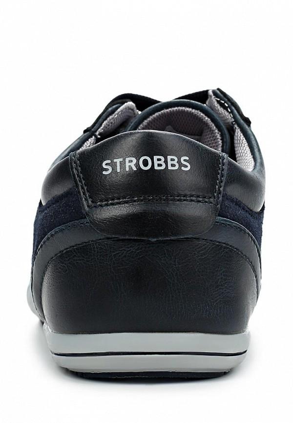 фото Кроссовки женские Strobbs ST979AWCJM99, черно-синие