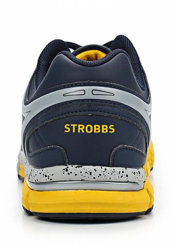 фото Кроссовки женские Strobbs ST979AWCJN29, темно-синие