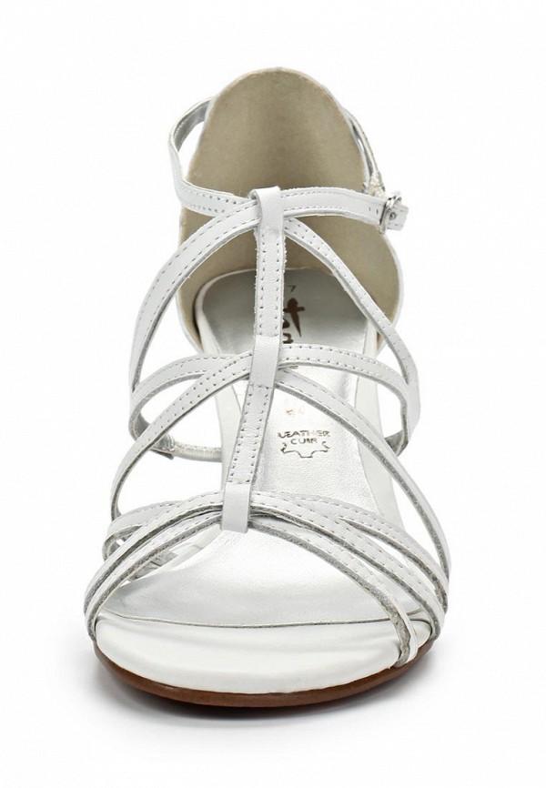 фото Босоножки на каблуке Tamaris TA171AWACF22, серебристые