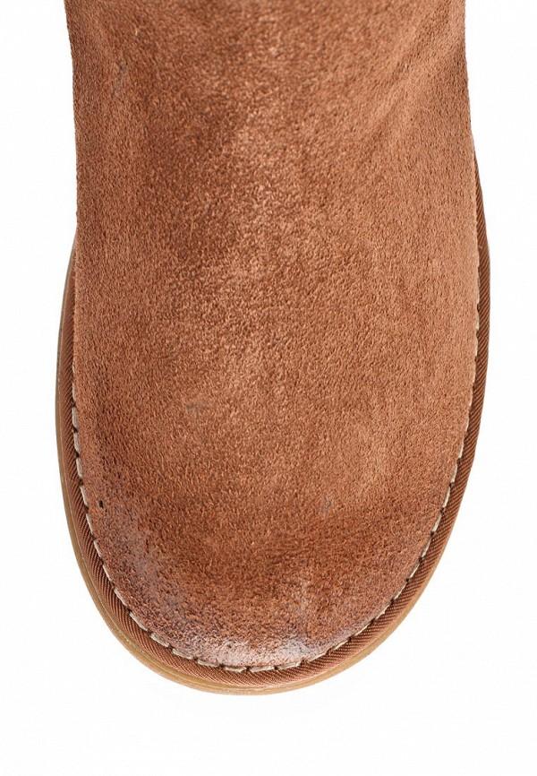 фото Женские полусапожки без каблука Tamaris TA171AWCKN90, коричневые