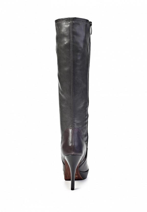 фото Сапоги женские на платформе и шпильке Tamaris TA171AWIX383, кожаные