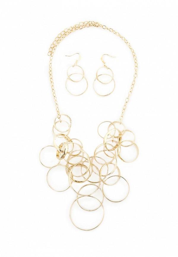 Женские серьги Taya T-B-5767-SET-GOLD