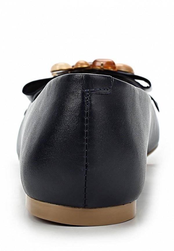 фото Балетки женские Tervolina TE007AWAQI28, черные кожаные