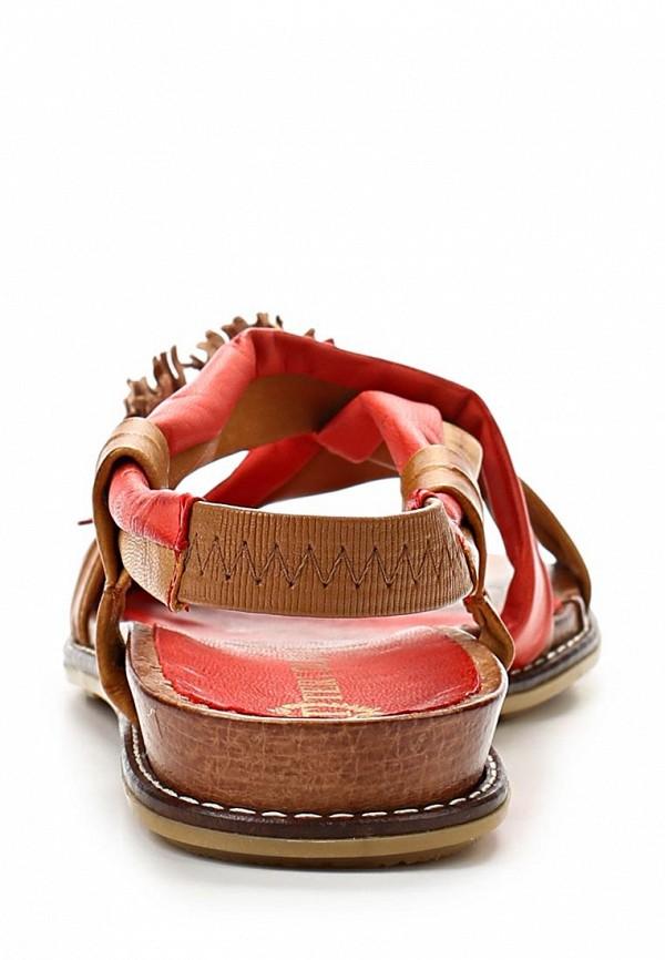 фото Сандалии женские Tervolina TE007AWAQI49, красные/коричневые