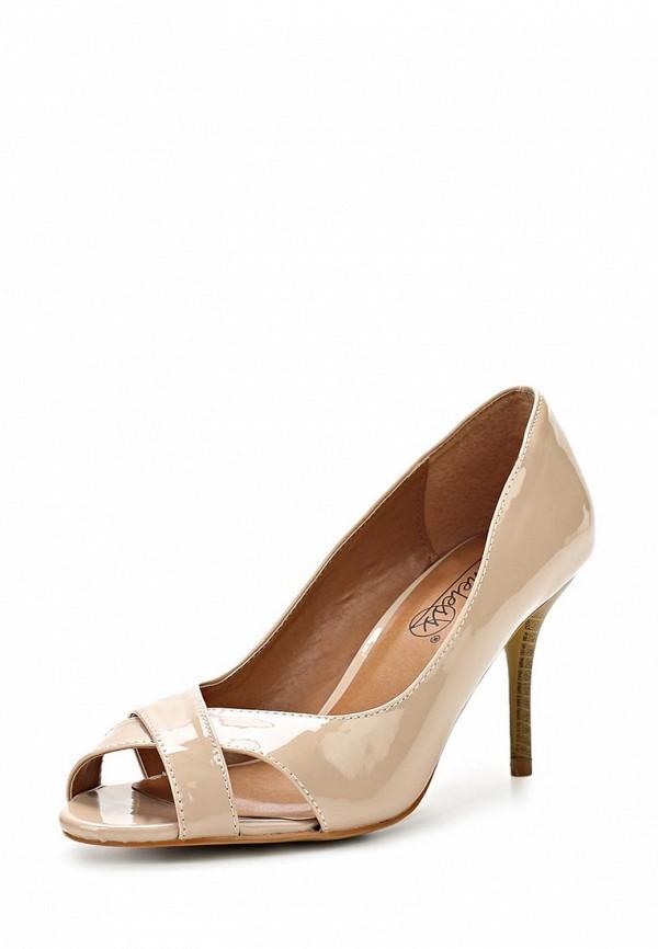 фото Женские туфли на каблуке Timeless TI990AWASJ08, телесного цвета (кожа-лак)