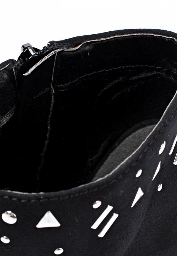 фото Ботильоны с открытым носом Timeless TI990AWKC528, черные/платформа