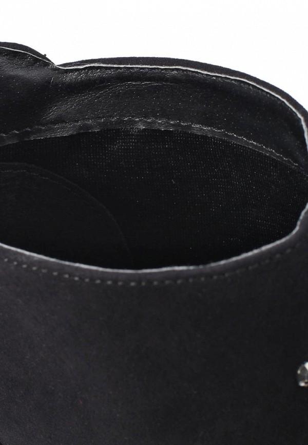 фото Ботильоны с открытым носом Timeless TI990AWKC532, черные/каблук