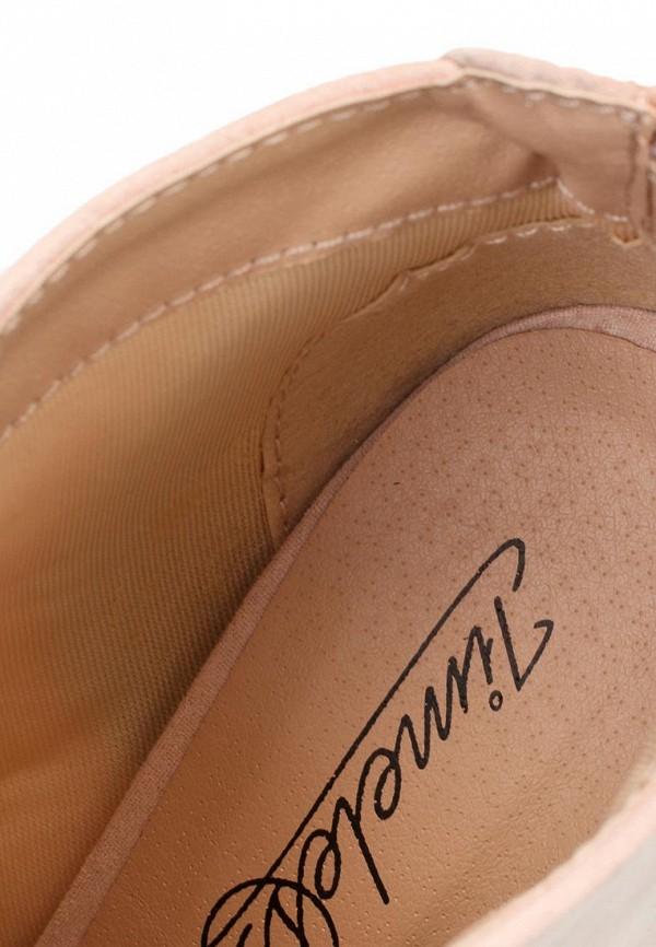 фото Ботильоны на каблуке Timeless TI990AWKC533, розовые с открытым носом