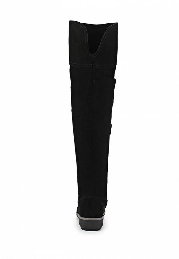 фото Женские ботфорты без каблука ТОФА TO012AWCLD95, черные