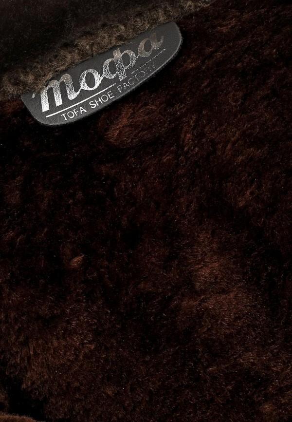 фото Сапоги женские короткие ТОФА TO012AWCLE36, коричневые