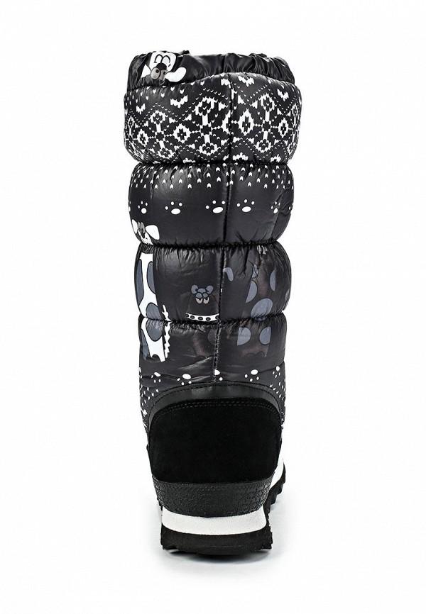 фото Сапоги-дутики женские ТОФА TO012AWCLE47, зимние черные