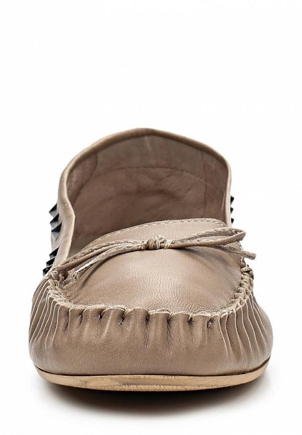 фото Мокасины женские Tom Tailor TO172AWBDX89, коричневые