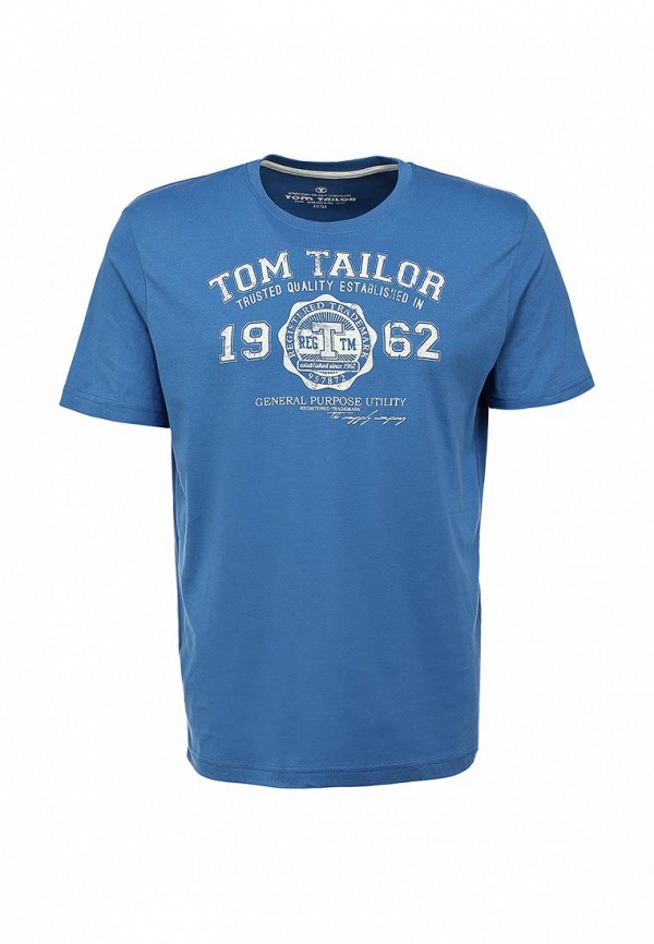 Футболка с надписями Tom Tailor (Том Тейлор) 1023549.00.10