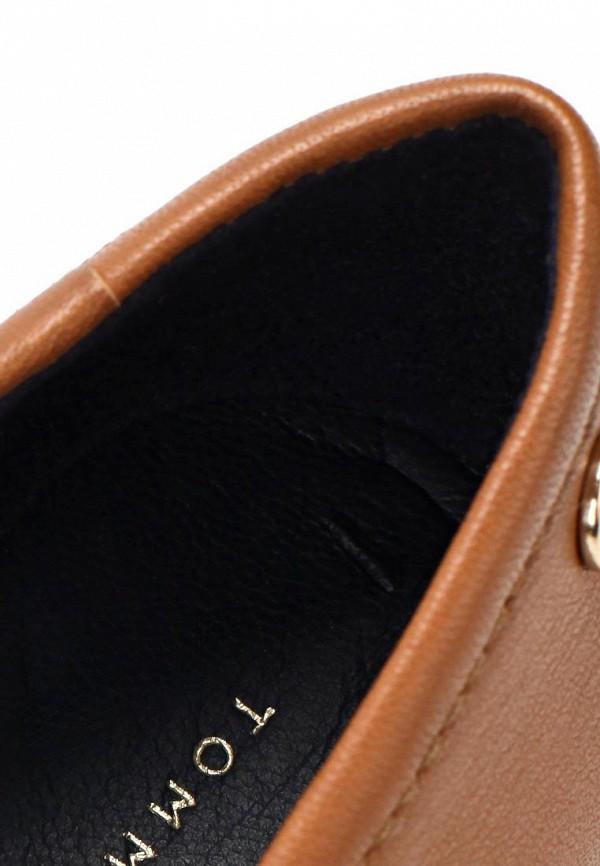 фото Балетки женские Tommy Hilfiger TO263AWAVI41, кожаные коричневые
