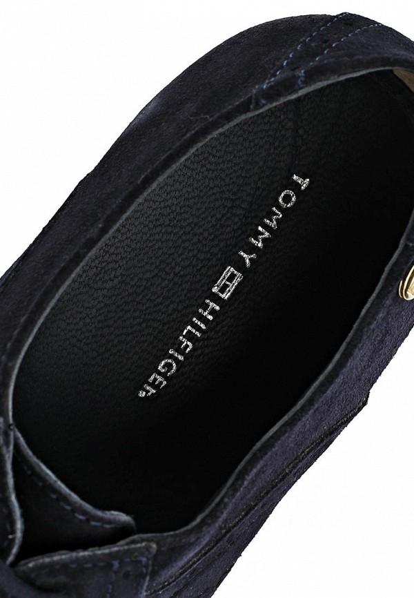 фото Полуботинки женские Tommy Hilfiger TO263AWAVJ56, черные/каблук