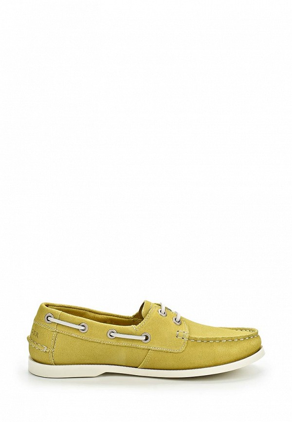 фото Мокасины женские Tommy Hilfiger TO263AWAVJ73, желтые со шнурками