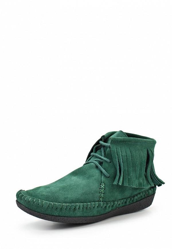 Ботинки Trisoles. Цвет: зеленый