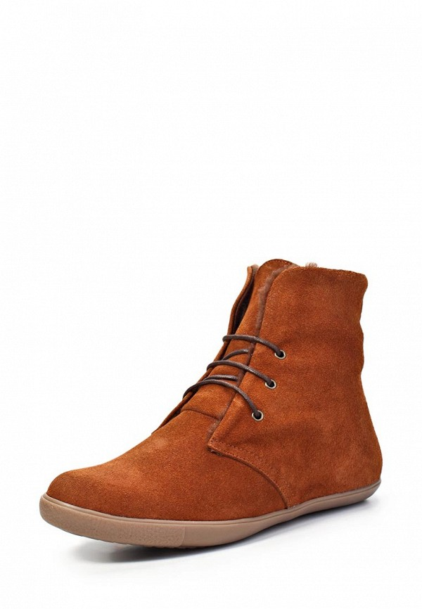 Ботинки Trisoles. Цвет: коричневый