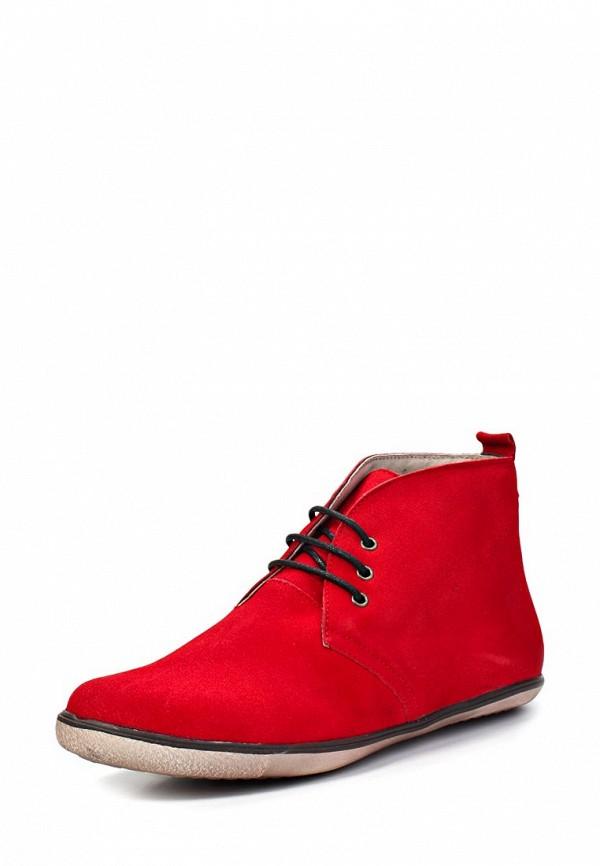 Ботинки Trisoles. Цвет: красный