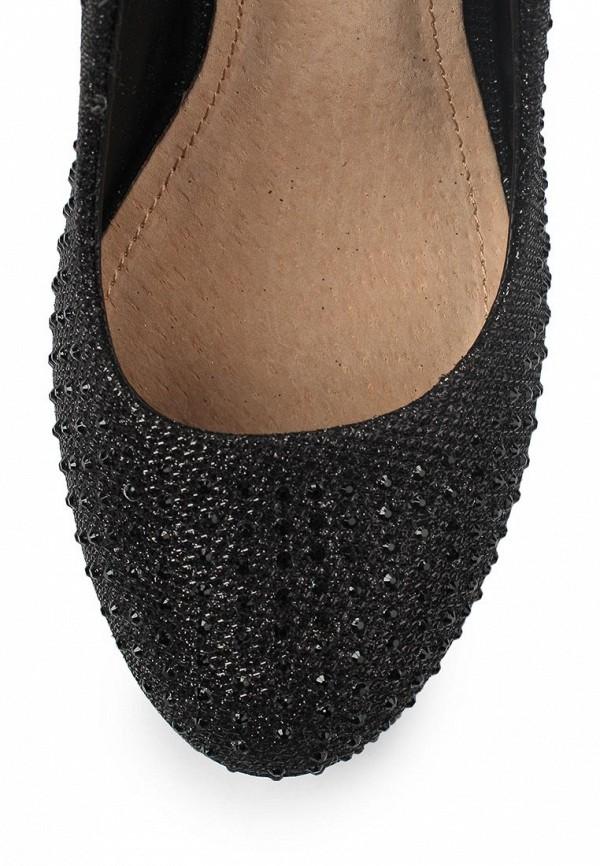 фото Туфли на платформе и каблуке T.Taccardi for Kari TT001AWAMC82, черные со стразами