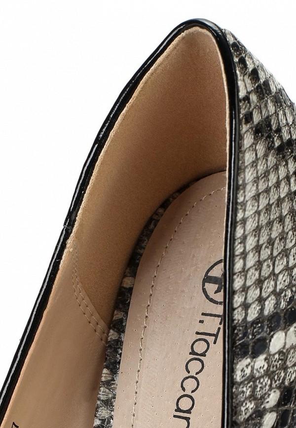 фото Туфли на шпильке T.Taccardi for Kari TT001AWAMD60, кожаные под рептилию