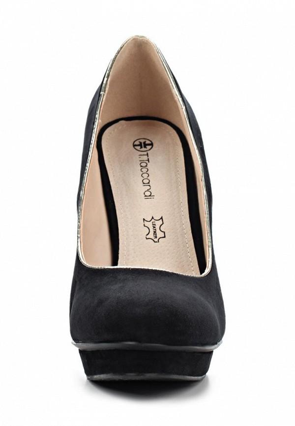 фото Туфли на платформе и каблуке T.Taccardi for Kari TT001AWAWA72, черные