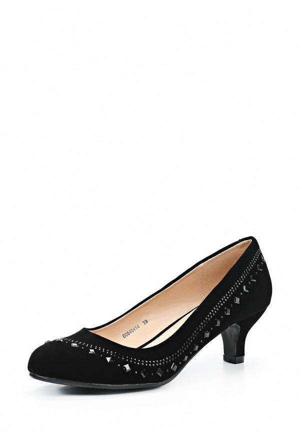 фото Туфли на низком каблуке T.Taccardi for Kari TT001AWCJP04, черные