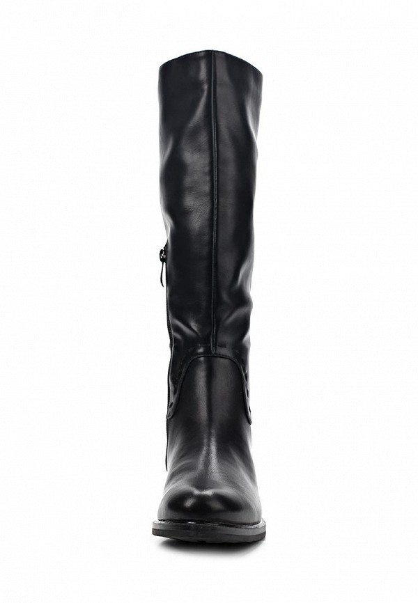 фото Сапоги женские T.Taccardi for Kari TT001AWCJP34, черные (кожа)