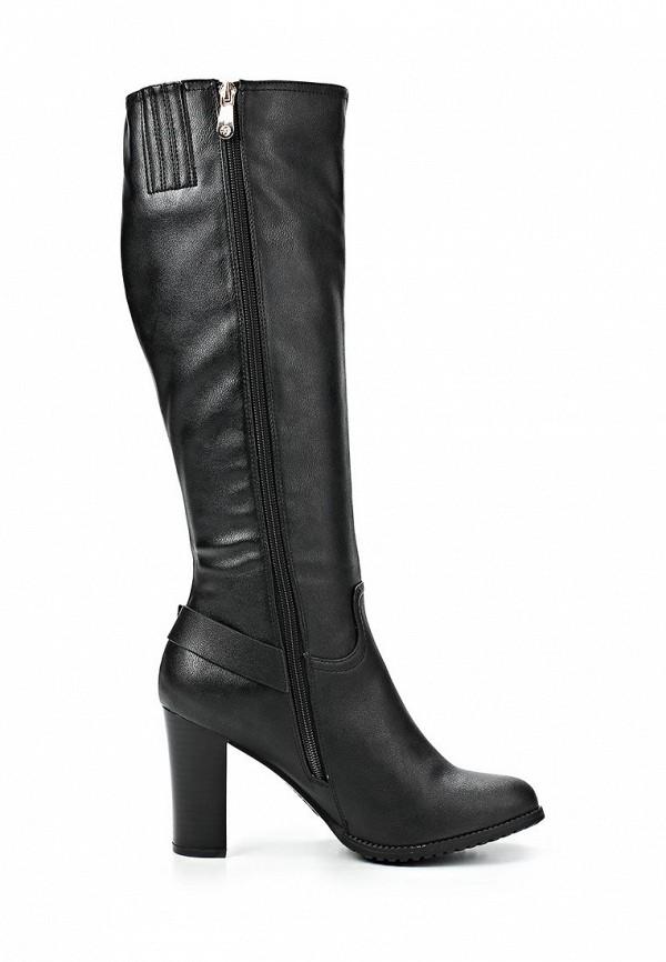 фото Сапоги на высоком каблуке T.Taccardi for Kari TT001AWCJP35, черные (кожа)