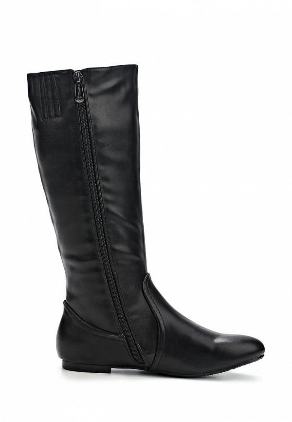 фото Сапоги женские без каблука T.Taccardi for Kari TT001AWCJP39, черные