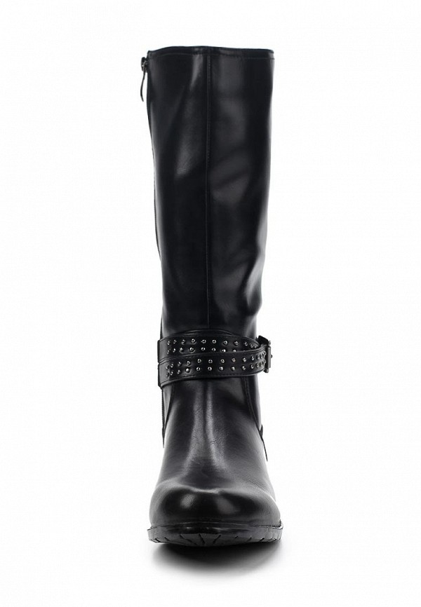 фото Сапоги женские без каблука T.Taccardi for Kari TT001AWCJP40, черные