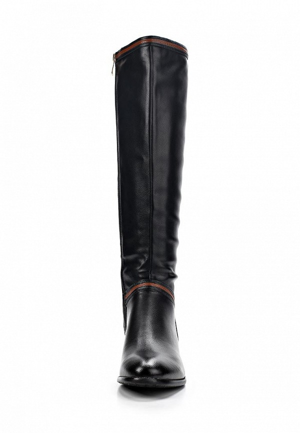фото Сапоги женские T.Taccardi for Kari TT001AWCJP44, черные кожаные