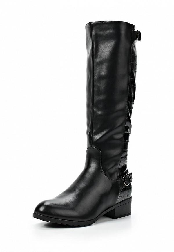 фото Сапоги женские T.Taccardi for Kari TT001AWCJP49, черные кожаные