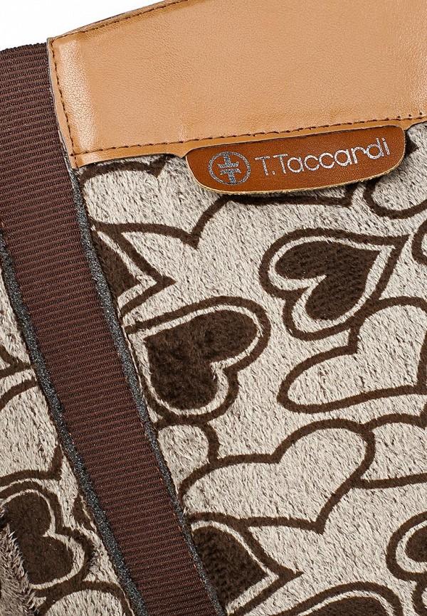 фото Сапоги женские T.Taccardi for Kari TT001AWCJP54, коричневые кожаные