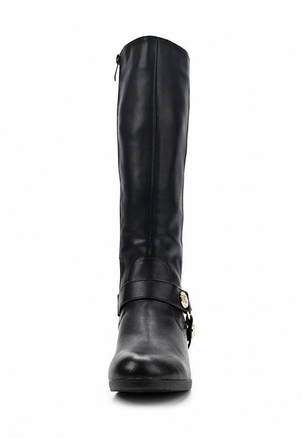 фото Сапоги женские T.Taccardi for Kari TT001AWCJP57, черные кожаные