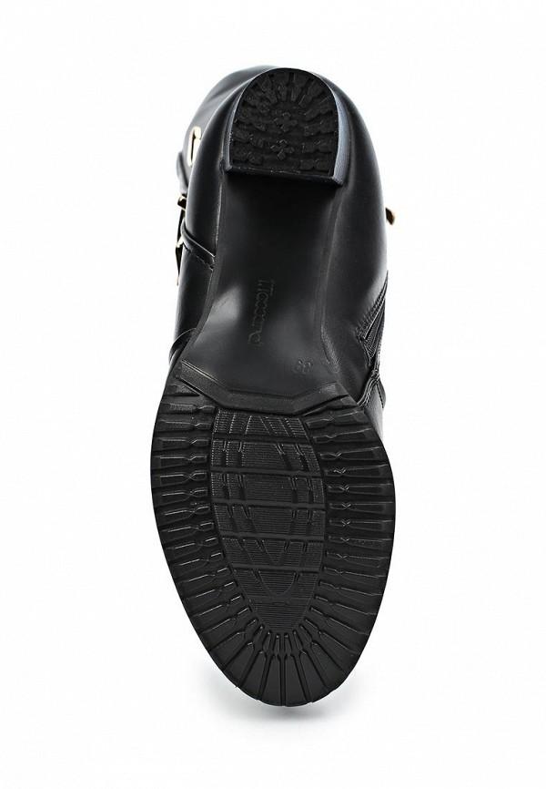 фото Сапоги женские на каблуке T.Taccardi for Kari TT001AWCJP72, черные кожаные