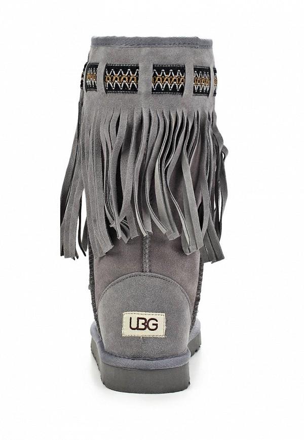 фото Женские угги UBG UB002AWLJ487, высокие серые